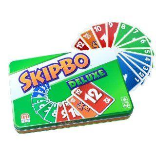 Mattel L3671   Skip Bo Deluxe, Kartenspiel: Spielzeug