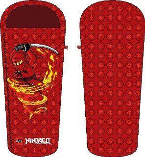 LEGO Ninjago Schlafsack / Kinderschlafsack   Sleeping Bag Größe : 50/65 x 165 cm red: Küche & Haushalt