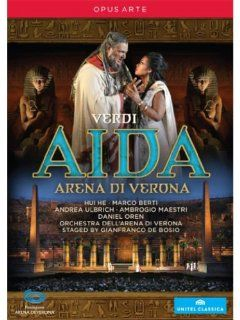 VERDI: Aida (Arena di Verona, 2012): Tiziano Mancini: DVD & Blu ray