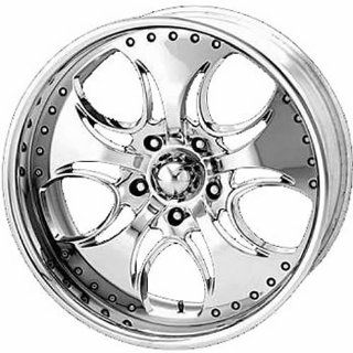 KMC KM755 20x8.5 Chrome Wheel / Rim 5x4.75 with a 12mm Offset and a 72.60 Hub Bore. Partnumber KM75528534212: Automotive