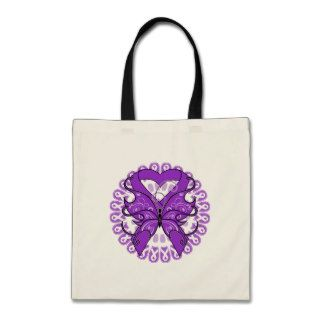 Lupus Butterfly Circle of Ribbons Bag