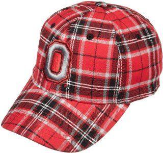 NCAA Men's Ohio State Buckeyes Metro Cap (Red Plaid, One Size)  Sports Fan Baseball Caps  Sports & Outdoors