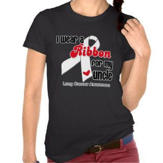 Lung Cancer Ribbon (Uncle) Shirt