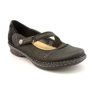 Earth Women's 'Alder' Black Leather Casual Shoes Earth Loafers