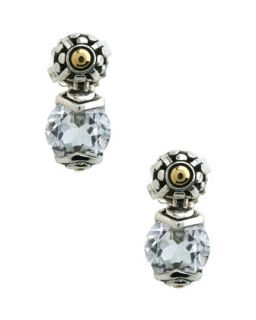 Batu Sari White Topaz Earrings