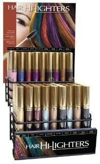 Cover Your Gray Hair Hilighter 18 Shade Display 0.25 oz. (108 Pieces) : Hair Highlighting Products : Beauty