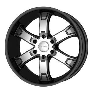 "KMC Wheels Brodie KM6715 Gloss Black Machined Wheel (22x9.5""/6x139.7mm): Automotive"