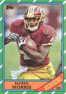 2013 Topps Archives Football #146 Alfred Morris ball in left arm Washington Redskins NFL Trading Card Sports Collectibles