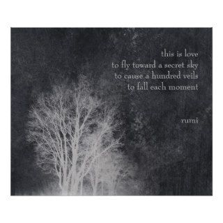 "rumi ""this is love"" poetry quote posters"