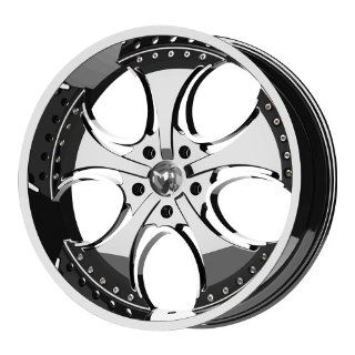 "KMC Wheels Venom KM7552 Chrome Finish Wheel (20x8.5""/6x139.7mm): Automotive"