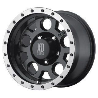 KMC XD Series XD 125 (20 x 9, 8 x 165.1/6.5) 0 Offset, Matte Blk WithMachined Bead Ring, (1) Wheel/Rim: Automotive