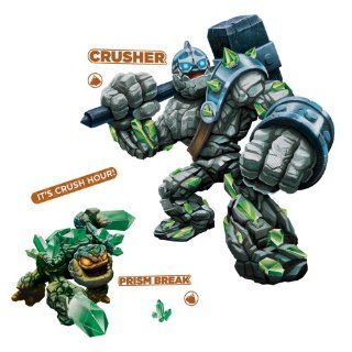 Roommates Rmk2287Gm Skylanders Giants Crusher And Prism Break Peel And Stick Giant Wall Decals   Decorative Wall Appliques
