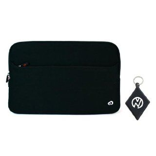 HP 17.3 Inch Notebook Laptop Computer Neoprene Sleeve Carrying Case with External Zipper Pocket, Fits models G72 B15SA, G72 B50US, G72 B54NR, G72 B60US, G72 B62US, G72 B63NR, G72 B66US, G72 b66US Color Black + NuVur ™ Keychain (ND17.3SEG1): Computers