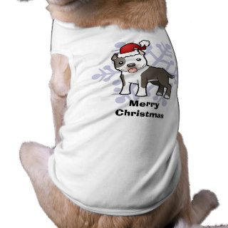 Christmas Pitbull / American Staffordshire Terrier Dog Clothing