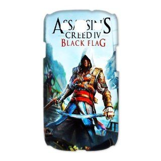 Custom Assassins Creed iv Black Flag 3D Cover Case for Samsung Galaxy S3 III i9300 LSM 163: Cell Phones & Accessories