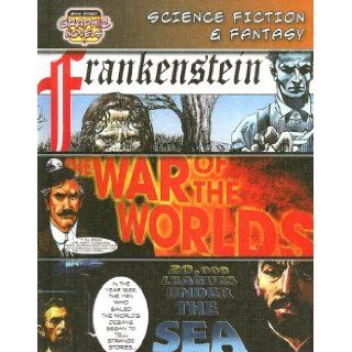 Science Fiction & Fantasy/Frankenstein/The War of the Worlds/20, 000 Leagues Under the Sea (Bank Street Graphic Novels): Mary Wollstonecraft Shelley, H. G. Wells, Jules Verne: 9780836879292: Books