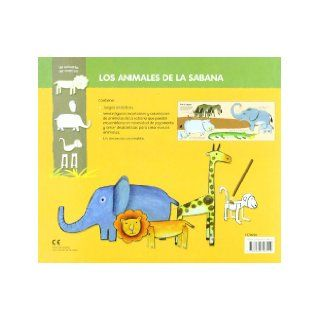 Los animales de la sabana / Savannah's animals (Spanish Edition) Godeleine De Rosamel 9788466793414 Books