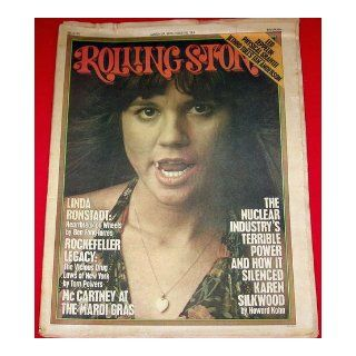 Rolling Stone Magazine March 27, 1975 Issue 183 Linda Ronstadt Cover: Books