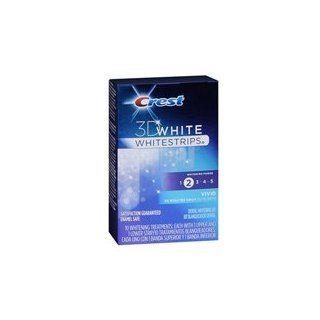 Crest Crest 3D White Strips Enamel Safe Vivid Dental Whitening, 10 each (Pack of 3)  Toothbrushes  Beauty