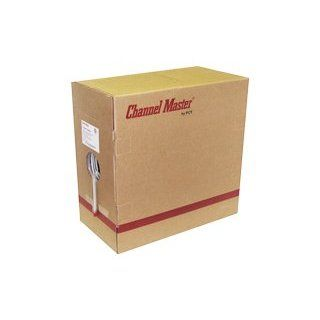 Channel Master 3GHz, White RG 6 QUAD Braid Coaxial Cable in Easy Pull Box Electronics