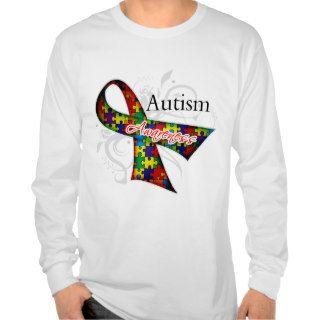Autism Awareness Ribbon T Shirts