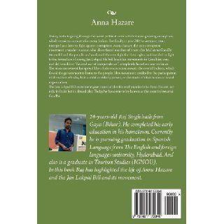 """Anna Hazare: """"Adhoori Jeet Ke Nayak"""" (Hindi Edition): Raj Singh: 9781481170840: Books"""