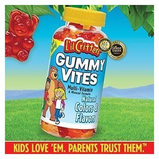 Multivitamin and mineral formula for kids   GUMMY VITES 275 Gummy Bears  Gummy Candy  Grocery & Gourmet Food