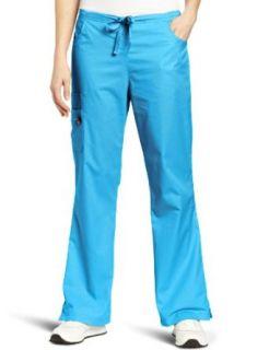 Mary Engelbreit Women's Scrubs Flare Leg Cargo Pant Clothing