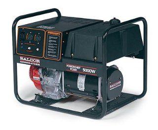 Powerchief 5, 000 Watt Industrial Portable Generator With Honda Engine  Power Generators  Patio, Lawn & Garden