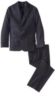 Calvin Klein Dress Up Boys 8 20 Narrow Pinstripe Vested Suit 1 Clothing