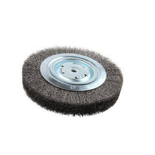 "Lincoln Electric KH322 Crimped Wire Wheel Brush, 4000 rpm, 8"" Diameter x 1 1/4"" Face Width, 5/8"" x 1/2"" Arbor (Pack of 1): Abrasive Wheel Brushes: Industrial & Scientific"