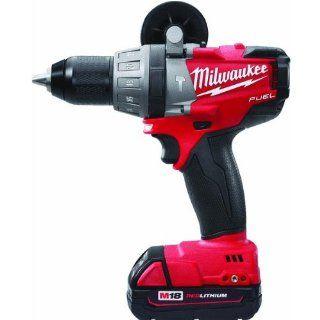 "Milwaukee Tool M18 FUEL 1/2"" Hammer Drill/Driver Kit 2604 22   Power Hammer Drills"