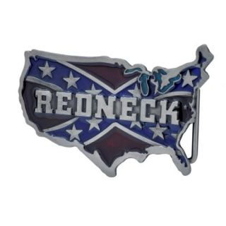 Buckle Rage Redneck Usa Flag Southern Pride Rebel Confederate #2 Belt Buckle, RED, 269: ARCHIVE