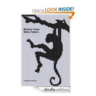 Monkey 3 Cross Stitch Pattern eBook: Mother Bee Designs: Kindle Store
