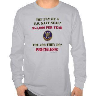 US Navy SEAL Long Sleeve T Shirt