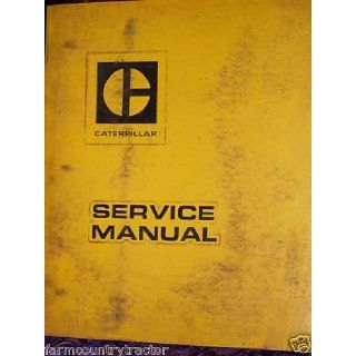 Caterpillar D8 Tractor OEM Service Manual (REG01220): Caterpillar D8: Books