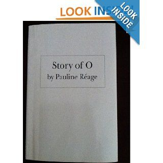 Story of O Pauline R�age, Guido Crepax 9780802101594 Books