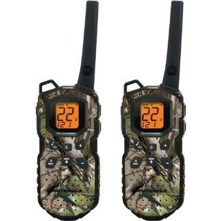 Motorola MS355R FRS Waterproof Two Way   35 Mile Radio Pack   Camo : Motorola Walkie Talkies : Car Electronics