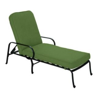 Hampton Bay Fall River Patio Furniture Hampton Bay Fall River Adjustable Patio Chaise Lounge with Moss ...