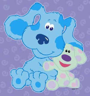 Blue s clues blue s room party decor 5 big wall stickers toys amp games