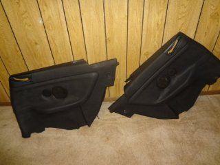 92 93 94 95 96 97 98 99 BMW 318 323 325 328 E36 M3 CONVERTIBLE REAR BLACK QUARTER PANELS DOOR PANEL: Automotive