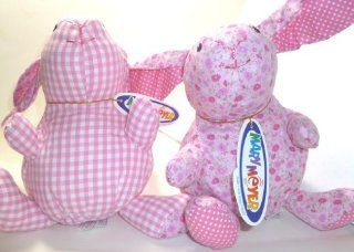 """Mary Meyer Plush Pink Sweet Pea Prints 8"""" Bunny Toys & Games"""