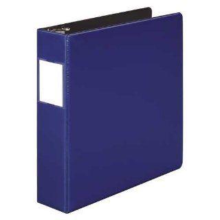 Wilson Jones 384 Line Heavy Duty Locking D Ring Binder, 2 Inch Capacity, 8.5 x 11 Inch Sheet Size, Dark Blue (W384 44BLPP)  Office D Ring And Heavy Duty Binders
