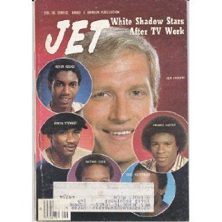 JET MAGAZINE FEBRUARY 28, 1980 *CAST OF THE WHITE SHADOW* Various Books