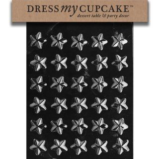 Dress My Cupcake DMCC401SET Chocolate Candy Mold, Stars, Set of 6 Candy Making Molds Kitchen & Dining