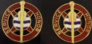 354th TRANS BATALLION Distinctive Unit Insignia   Pair Clothing