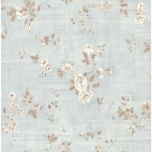 Brewster 8 in. W x 10 in. H Textured Rose Wallpaper Sample 282 64036SAM