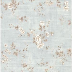 Brewster 8 in. W x 10 in. H Textured Rose Wallpaper Sample 282 64036SAM