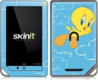 Looney Tunes   Tweety Bird Flying   Nook Color / Nook Tablet by Barnes and Noble   Skinit Skin Computers & Accessories