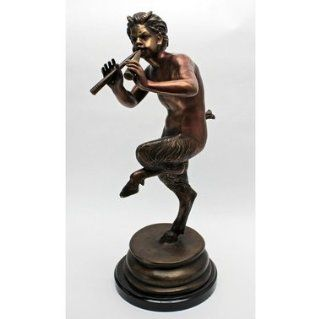 Pan Greek God Sculpture Statue : Outdoor Statues : Patio, Lawn & Garden